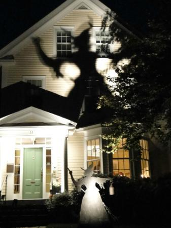 Beech Tree B&B: Witch and shadow-- for Halloween