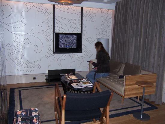 Witt Istanbul Suites: Côté salon
