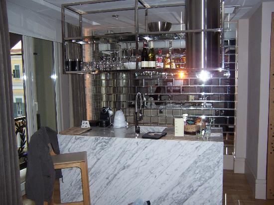 Witt Istanbul Suites: Côté cuisine