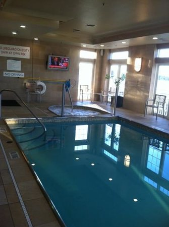 Newport Beach Hotel and Suites: Pool and Jacuzzi
