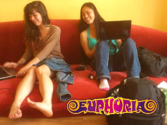 Euphoria Hostel: Relax and be yourself