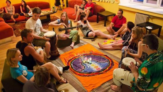 Euphoria Hostel: Music and song tales short and long