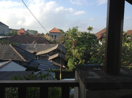 Pondok Ayu: View across the rooftops