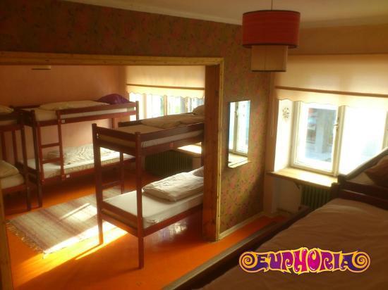 Euphoria Hostel: Ten bed den to visit now and then