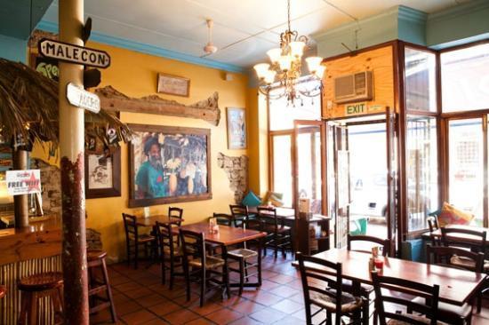 Cafe Mojito : Bar and restaurant main area