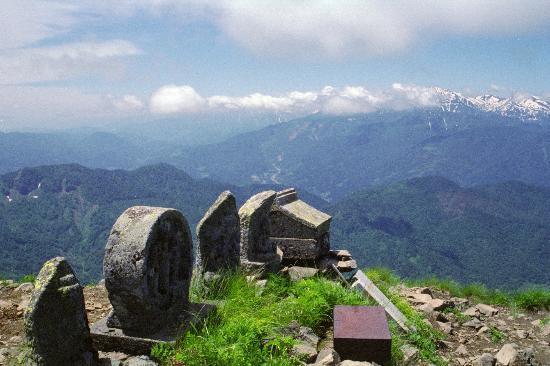 Itoigawa, Japan: 雨飾山山頂からの眺め