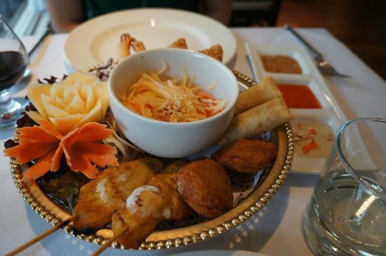 Simply Thai Restaurant: Starter Platter