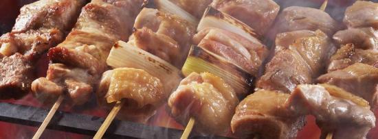 Niki's Kebab House - Take Away: Souvlaki with vegetables
