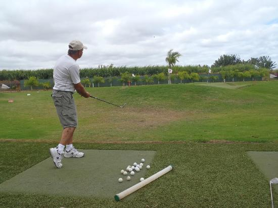 Club Med La Plantation d'Albion: terrain golf pratique