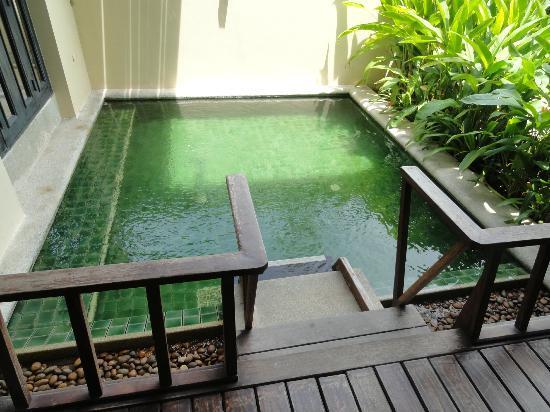 Anantara Lawana Koh Samui Resort: room wid personal plunge pool