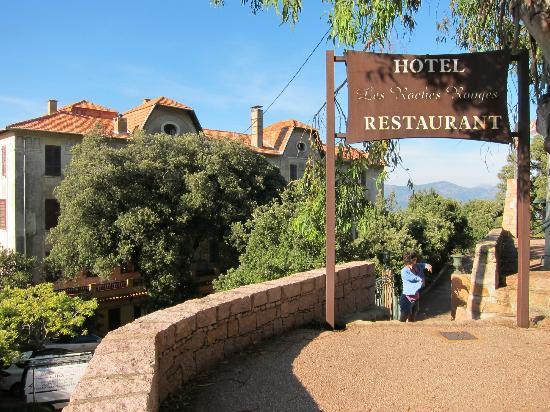 hotel photo de hotel les roches rouges piana tripadvisor. Black Bedroom Furniture Sets. Home Design Ideas
