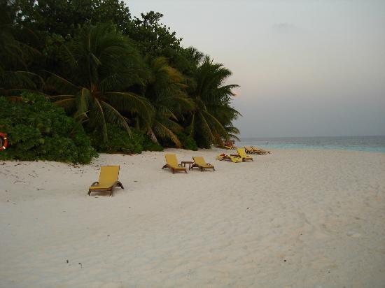Angsana Ihuru: An evening on the beach