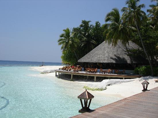Angsana Ihuru: Beach bar