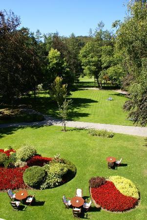 La Gaichel : Jardin