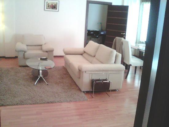Senator Apartments City Center : living room comfortable and charming