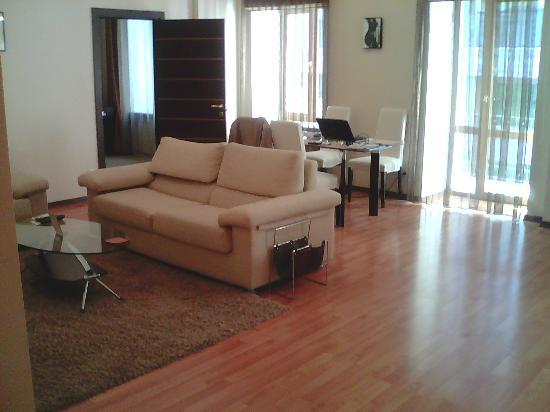 Senator Apartments City Center: living room from entrance entirely comfortable
