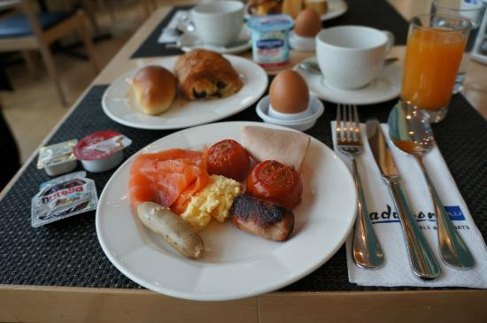 Radisson Blu Astrid Hotel, Antwerp: Our breakfast