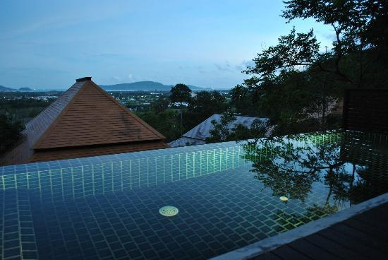 Villa Zolitude Resort and Spa: View from the private pool