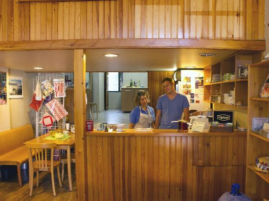 St. John Cafe Shop: The staff having fun