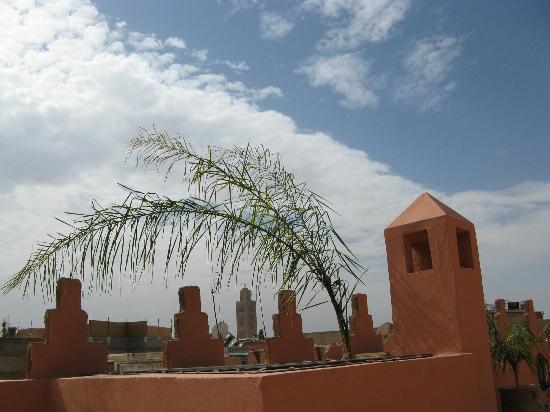 Riad RK: vue de la terrasse
