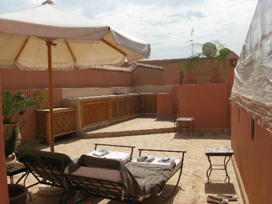Riad RK: terrasse