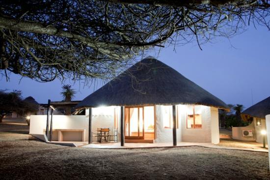 Ubizane Wildlife Reserve: Zululand Safari Lodge Rondavel Styled rooms