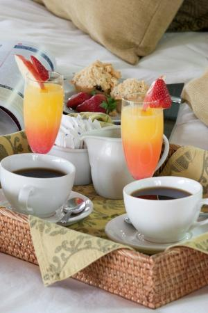 Ubizane Wildlife Reserve: Coffee and Refreshments served