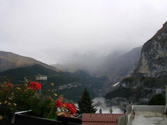 Eiger Guesthouse: view from room