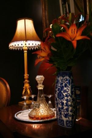 Eliza Thompson House Savannah: Evening Cordials
