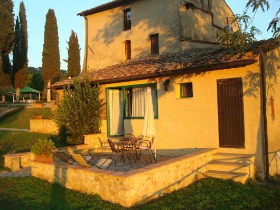 Antico Borgo San Lorenzo: Unsere Terrasse