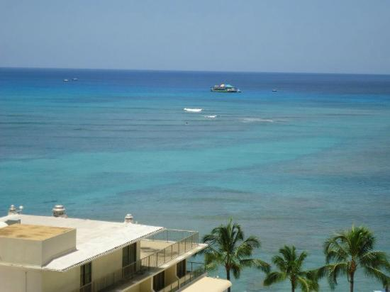Outrigger Reef Waikiki Beach Resort: View from our room