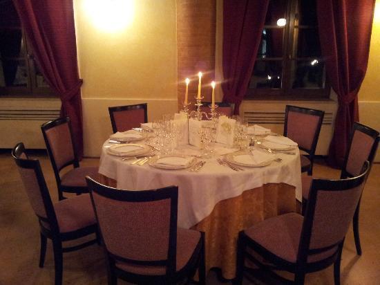 Ristorante Pantagruel: Uno de i tavoli pronti