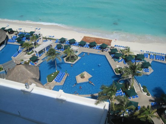 Royal Solaris Cancun: vista desde el balcon