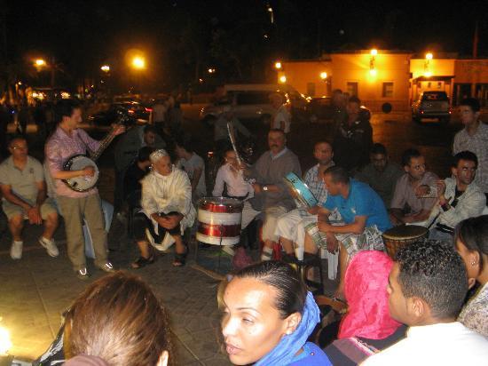 Marrakech-Tensift-El Haouz Region, Marokko: musiciens bérbéres