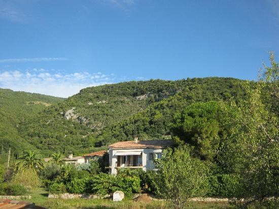 Mas des Kardouons : view from the upper terrace.jpg