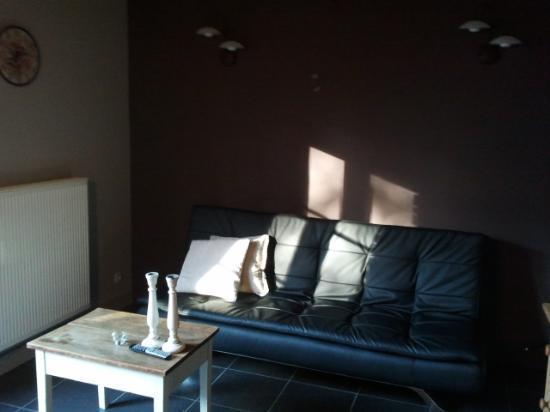 Paellepelhoeve Bed & Breakfast: coin salon