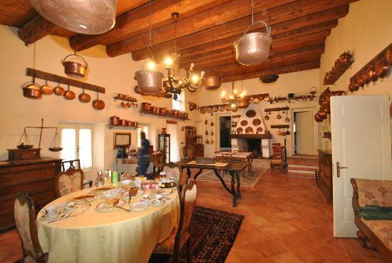 Villa dei Priori: Stanza dei rami