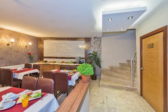 Erbazlar Hotel: kahvaltı salonu