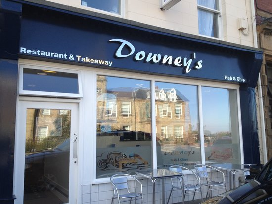 Downeys of Seaham: Delicious fish and chips!