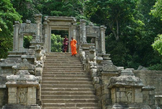 Yapahuwa, Sri Lanka: The steps