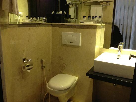 Gino Feruci Braga Hotel: Toilet