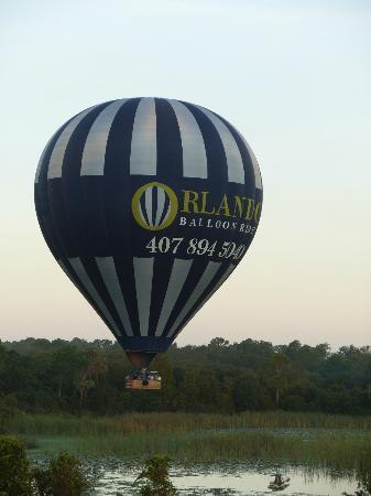 Orlando Balloon Rides: Just leaving