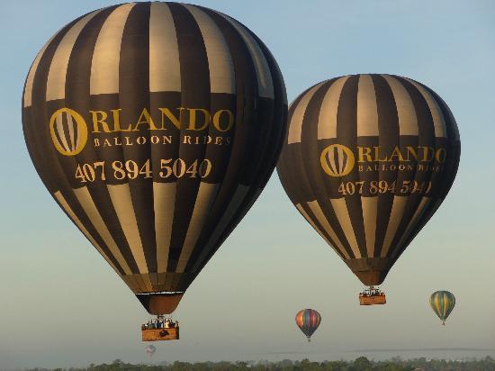 Orlando Balloon Rides: Twins