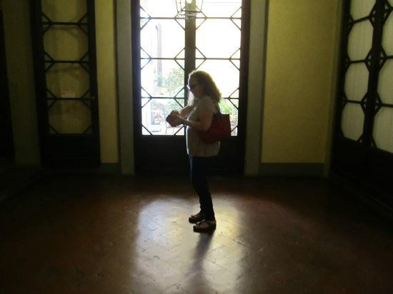 Residenza Fiorentina: ventana a los jardines