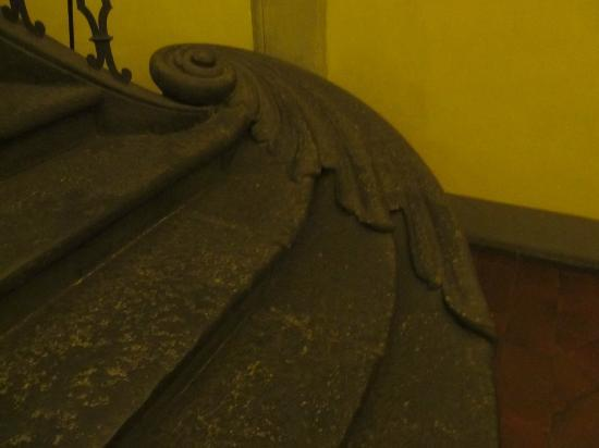 Residenza Fiorentina: escaleras del 1700