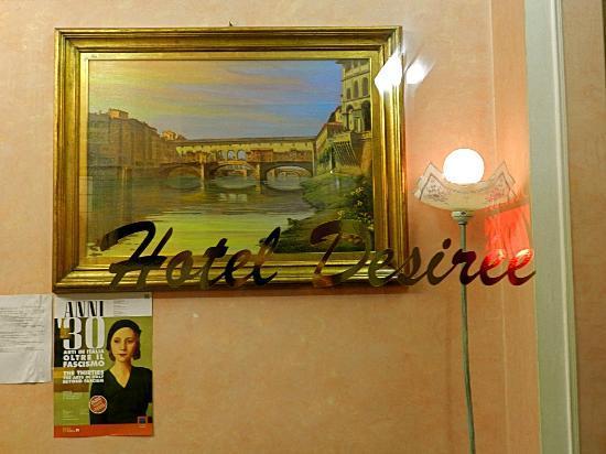 Hotel Desiree: Detail