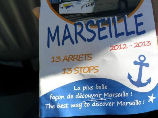 Marseille Le Grand Tour : Leaflet