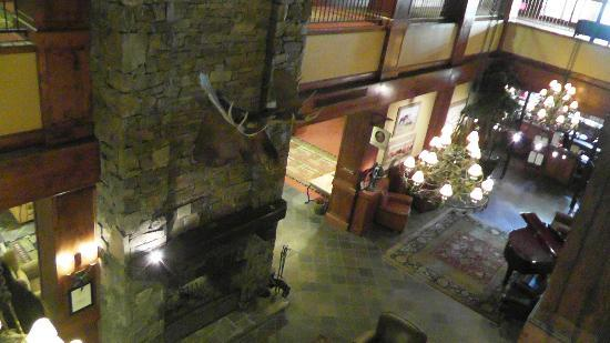 Lodge at Whitefish Lake: Lobby