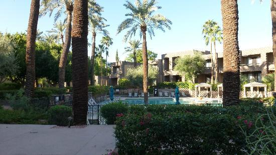 DoubleTree Resort by Hilton Paradise Valley - Scottsdale: Other view of pool area.