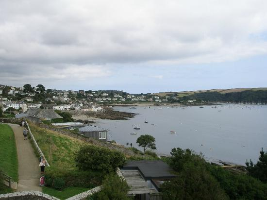 St. Mawes Castle: View of St Mawes from Castle